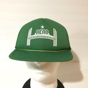 Reno Nevada Mesh Trucker Baseball Cap Hat